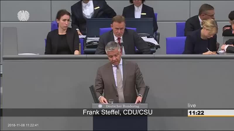Frank Steffel -CDU- läuft Amok nach Zwischenfrage von Martin Renner -AfD- zum UN-Migrationspakt