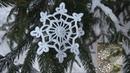 ❄ Вязание снежинок Большая снежинка крючком Урок 115 snowflake crochet