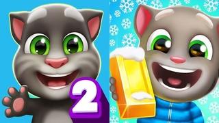 Мой Говорящий Том 2 Рождественские Приключения  мультик про котят
