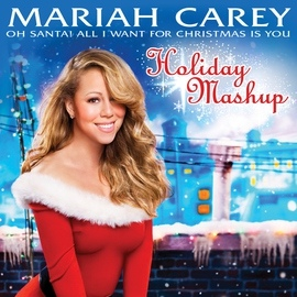 Mariah Carey альбом Oh Santa! All I Want For Christmas Is You