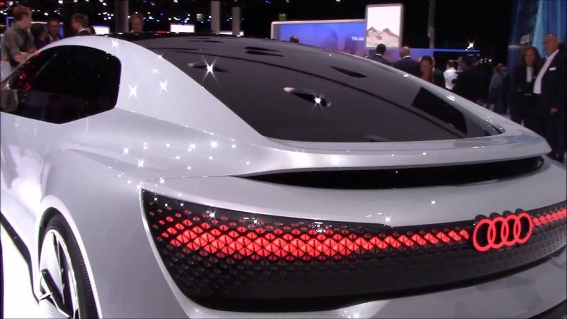 🔹Audi Aicon Concept Autonomous Luxury - Frankfurt Autoshow 2017🔹