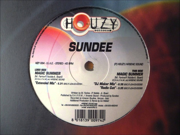 Sundee - Magic Summer