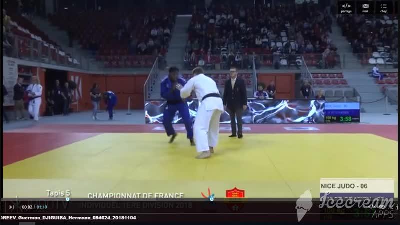 Rouen (France) Championnats de France 1e division Seniors DE JUDO 2018