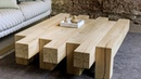 ✔️ Tables Made Of Wood 📷 More Than 40 Design Options