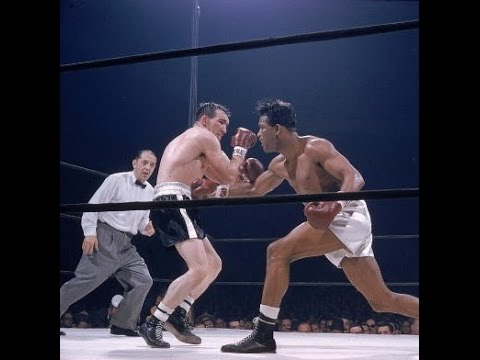 Sugar Ray Robinson vs Gene Fullmer I