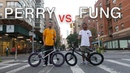 Street BMX Game of BIKE Billy Perry VS Stephon Fung NYC