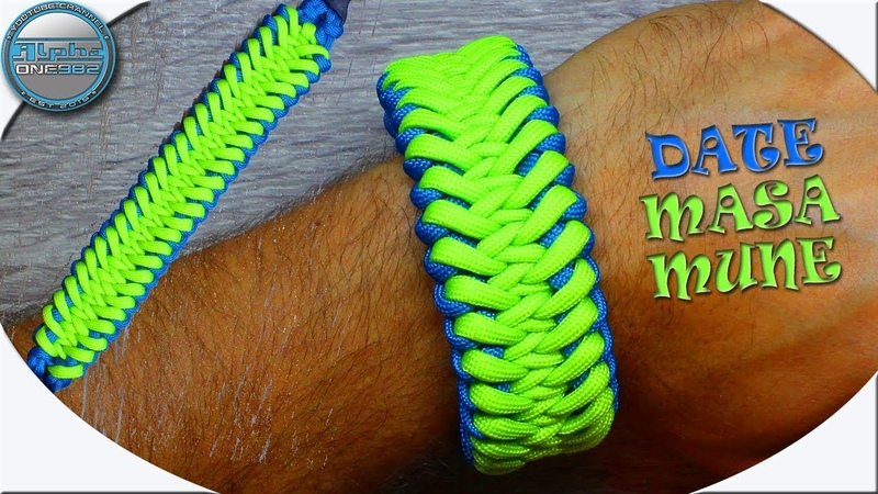 Ultimate How To Make Paracord Bracelet Date Masamune DIY Fast and Easy
