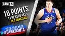 Nikola Jokic Full Highlights 2019 WCR1 Game 5 Spurs vs Nuggets - 16 Pts, 11 Rebs, 8 Asts!
