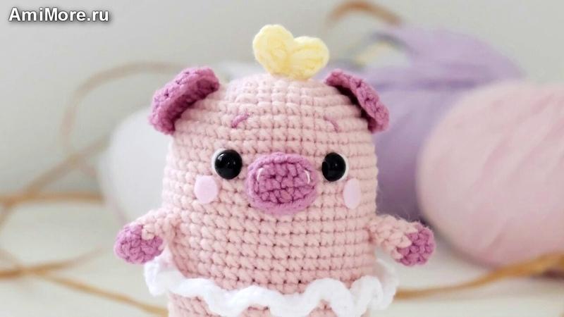 Амигуруми схема Свинки Поппи. Игрушки вязаные крючком - Free crochet patterns.