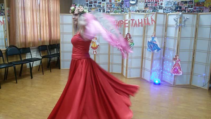 Шаленочка Олеся Летуновская цыганский танец соло дебют 24 05 19