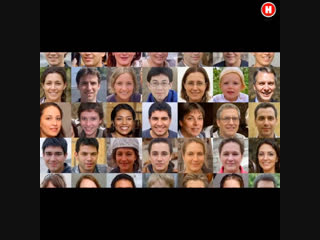 Искусственный интеллект способен создавать реалистичные снимки человеческих лиц, которые сложно отличить от настоящих.