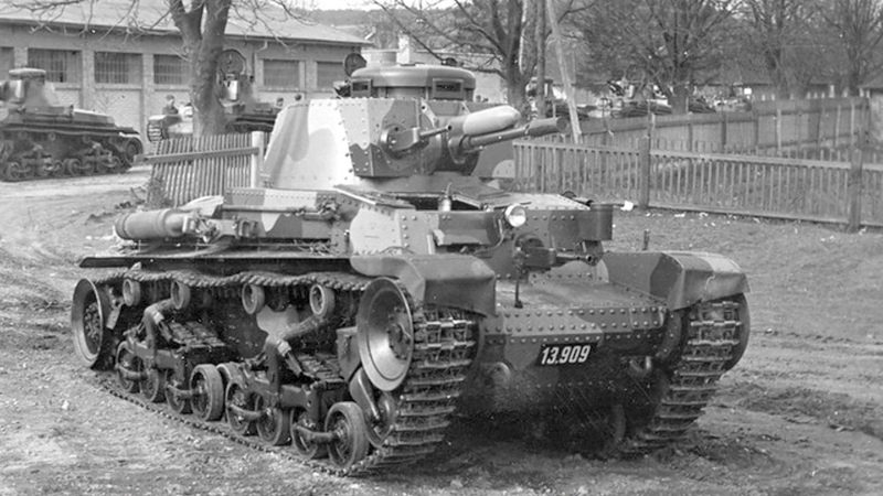Československý lehký tank LT vz. 35 Pz.Kpfw. 35(t)
