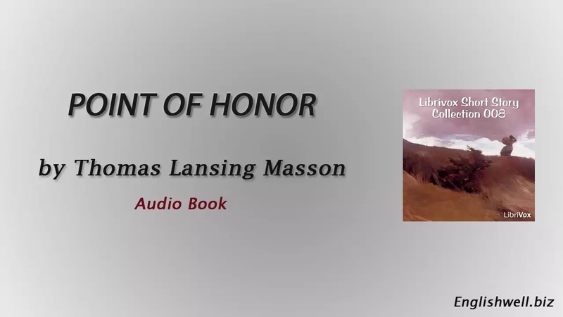 Point of Honor by Thomas Lansing Masson