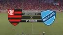 Gols - Flamengo 2 x 2 Bolívar (BOL) - Libertadores 2014 - 12/03/2014
