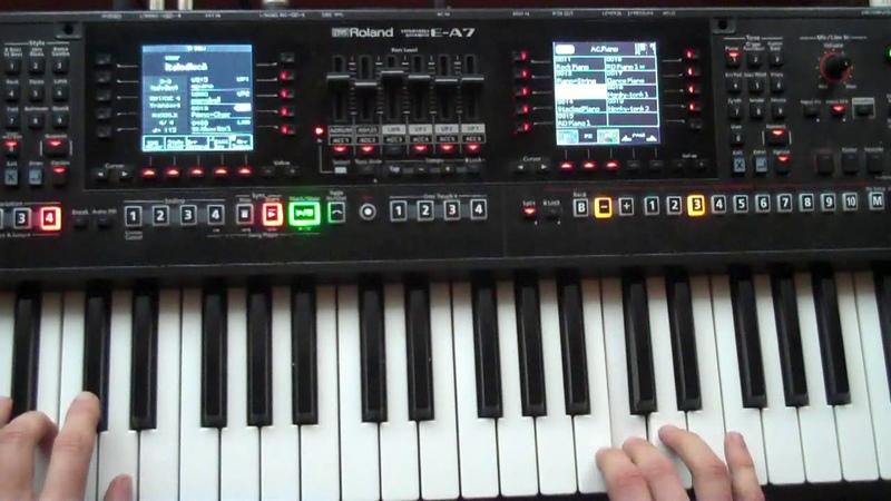 Roland EA7 | Italo Disco Instrumental 2017 Euro Disco 80 90s