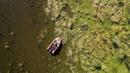 Трое в лодке, не считая квадрокоптер. Красота Сибири. Сентябрь 2018. 4K