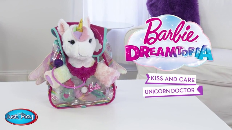 Barbie | Dreamtopia Kiss and Care Unicorn Doctor Set