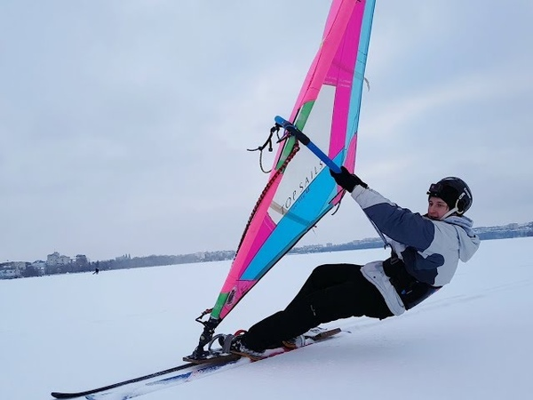 Winter Windsurfing