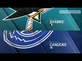 San Jose Sharks vs Vancouver Canucks Apr 2, 2019 HIGHLIGHTS HD