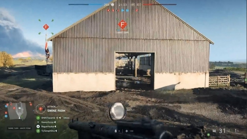 New Panzerstorm gameplay (From the BF5 livestream)