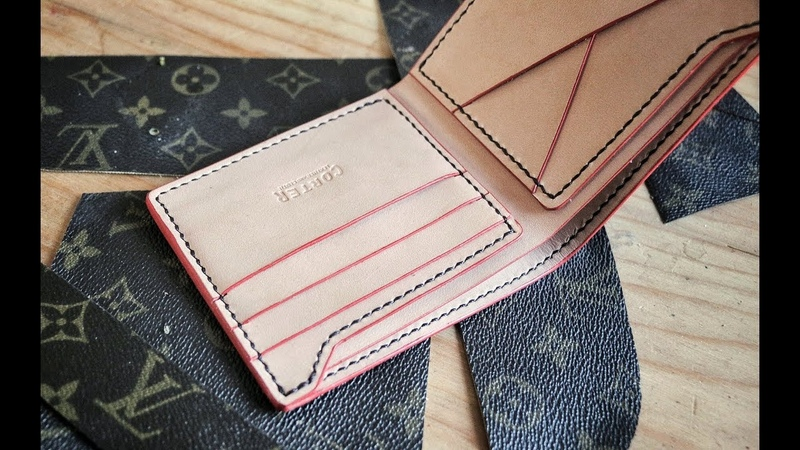 Making a D.I.Y. Louis Vuitton Wallet!