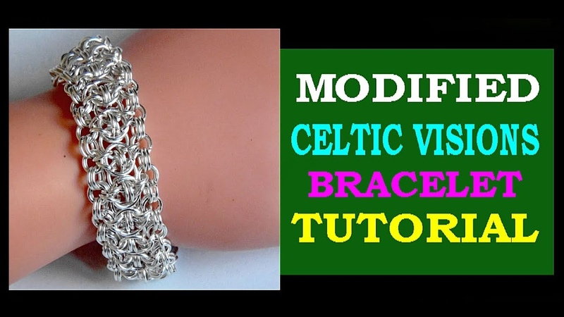RUFFLES CHAINMAILLE BRACELET TUTORIAL