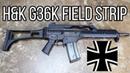 HK G36 Rifle Field Strip