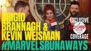 Brigid Brannagh Kevin Weisman interviewed: MarvelsRunaways cast/crew for Season 2 setvisit Hulu