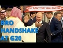 BREAKING! Putin And Trump Dont Greet Each Other Putin High Fives Saudi Crown Prince MBS At G20