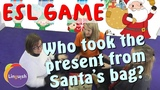 Linguish ESL Games Who took the present from Santa's bag (Cookie Jar Christmas Special) LT78