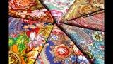 Изысканные платки Павловопосадской платочной мануфактуры