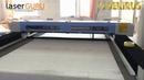 Лазерный станок по тканям с автоподачей и системой контроля отклонений SEKIRUS P2501M 3016