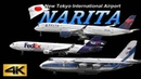 4K Special Ultra HD 3Hour in Narita Airport 2018 the Amazing Airport Spotting