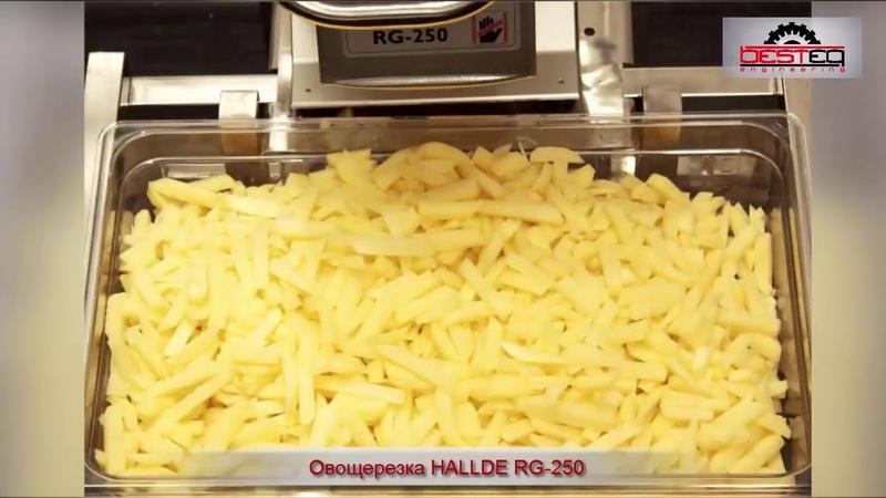 Овощерезка HALLDE RG 250