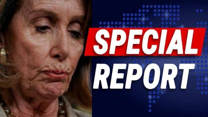 Top Democrat Blin-dsides Nancy – Gives Shutdown Win To Trump