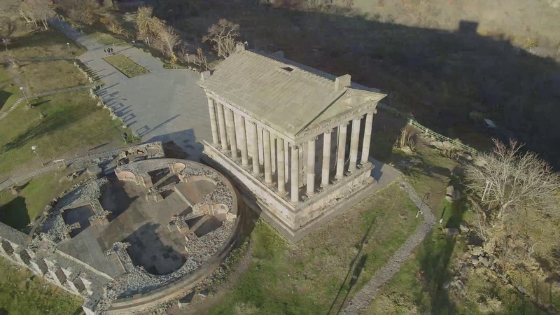 Temple of Garni Garni Tachar