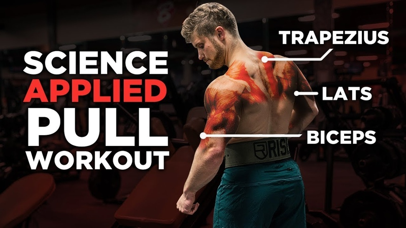 The Most Effective Science-Based PULL Workout: Back, Biceps Rear Delts (Science Applied Ep. 2)