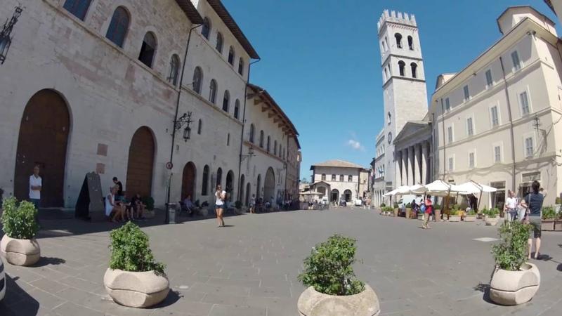 VIRTUAL WALK - ITALY - ASSISI