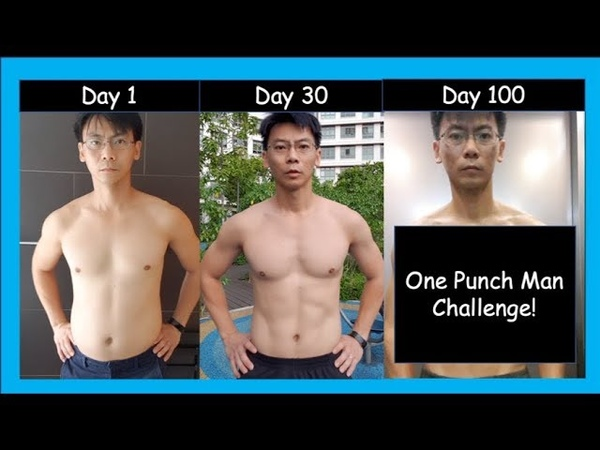 100 days After One Punch Man Workout... I trained like superhero for 100 Days