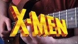 X-Men The Animated Series Theme on Guitar