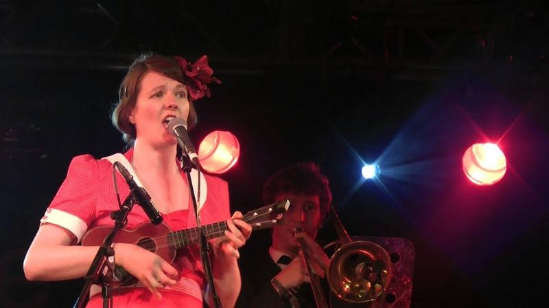 Katy Carr and the Aviators Hej Sokoły Charlie Gillett Stage WOMAD 28 07 2013