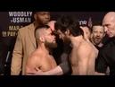 UFC 235 Weigh-In - Zabit MAGOMEDSHARIPOV vs. Jeremy Stephens - Last Staredown