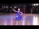 Спортивно - бальные танцы Дети Соло. Соревнования по спортивно-бальным танцам Сонячні Стежки, Киев