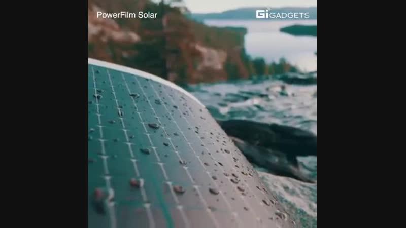 Походные солнечные модули