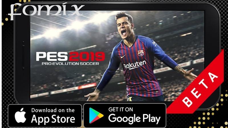 PES 2019 MOBILE pro evolution soccer (BETA) - первый взгляд, обзор (Android Ios)