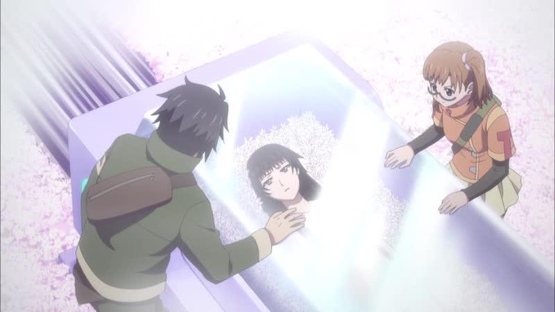 Деррида покоривший время RErideD Koku Koe no Derrida 12 серия Lupin Aemi December Kiyoko Koheiri
