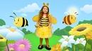 Песенки для детей. Пчелки жу-жу-жу. Поем и лепим с Плей До