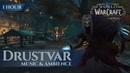 Drustvar Music Ambience 1 hour 4K World of Warcraft Battle for Azeroth aka BfA