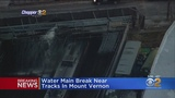 Water Main Break Snarls Metro-North Service