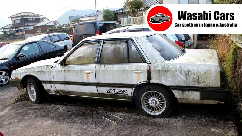 Yard find Near Rotten 1983 Nissan Skyline GT Turbo Sedan - HR30